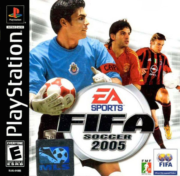 FIFA Soccer 2005 [NTSC-U] Front Cover